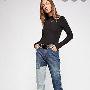 Free People Jeans - Free People x scotch & soda patchwork Jeans 29/32